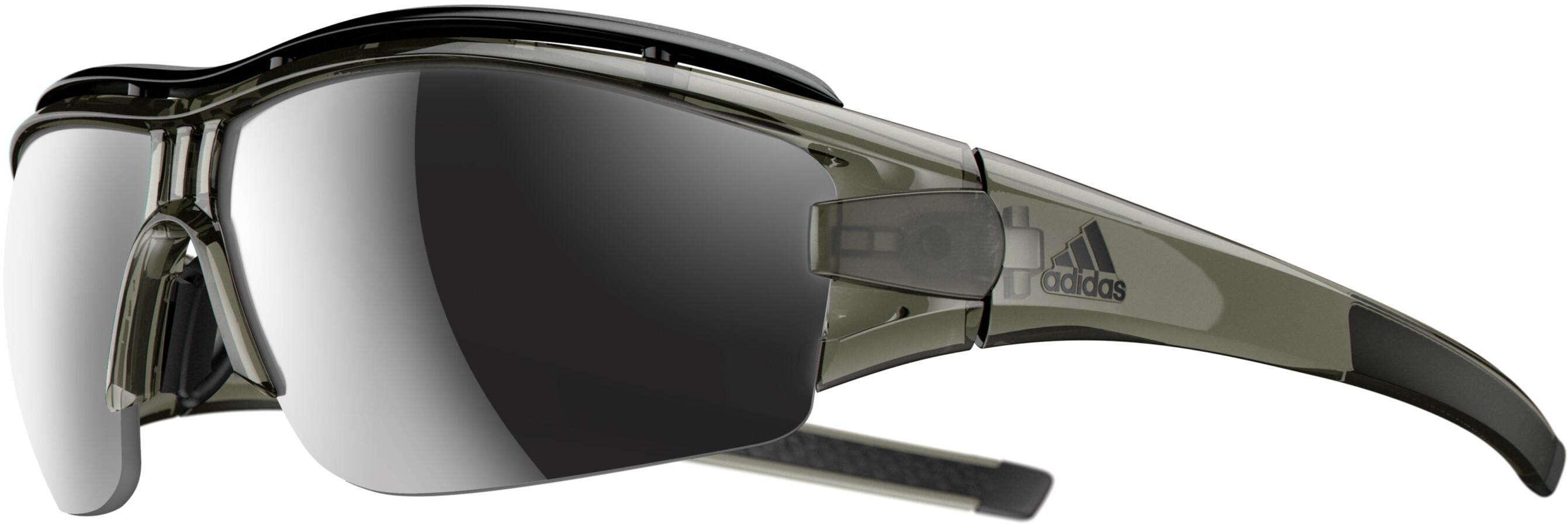 adidas evil eye halfrim pro glasses l cargo shiny chrome. Black Bedroom Furniture Sets. Home Design Ideas